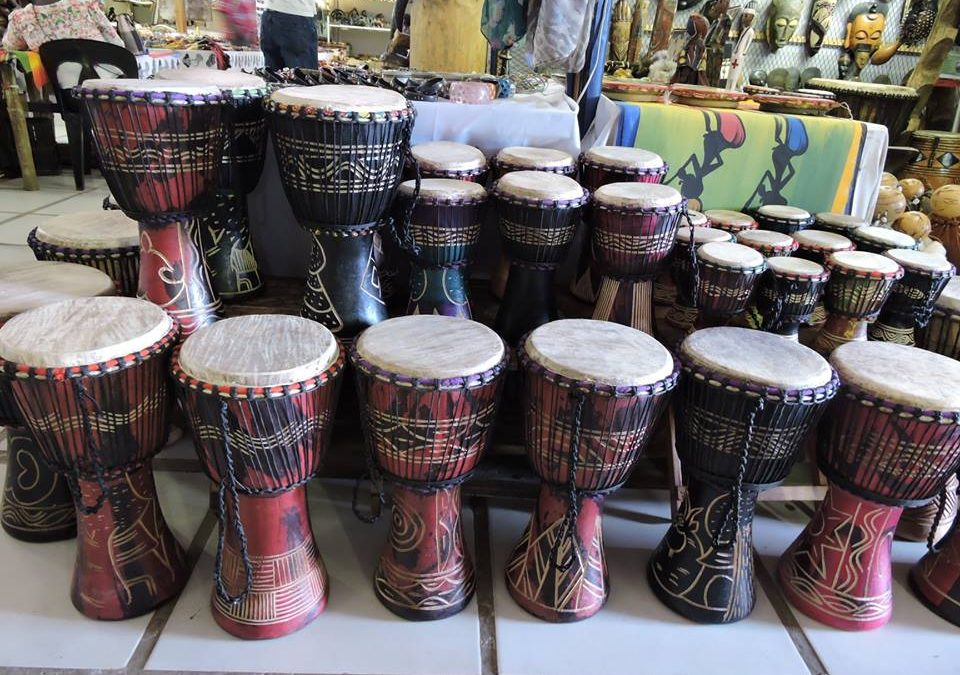 Hand Carved Drums